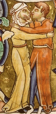 Couple enlacé, Bible de Manerius